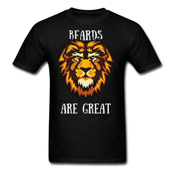Beards Are Great T-Shirt - BeardedMoney