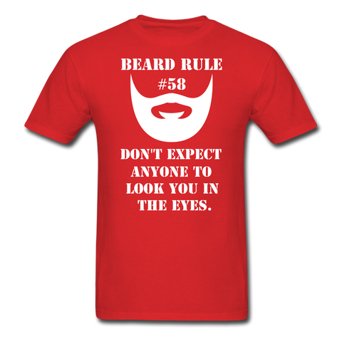 Beard Rule #58 T-Shirt - bearded-money