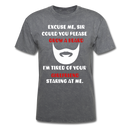 Excuse Me, Sir T-Shirt - bearded-money