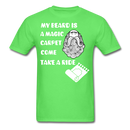 My Beard Is A Magic Carpet T-Shirt - BeardedMoney