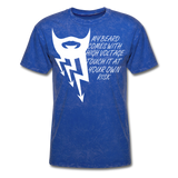 My Beard Comes With High Voltage Touch It At Your Own Risk Men's T-Shirt - bearded-money