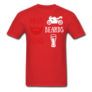 Bikes, Beards, Beers T-Shirt - BeardedMoney