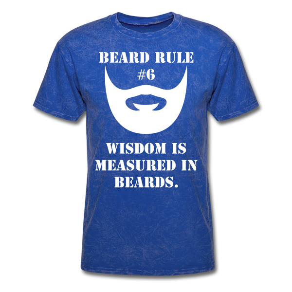 Beard Rule #6 T-Shirt - BeardedMoney