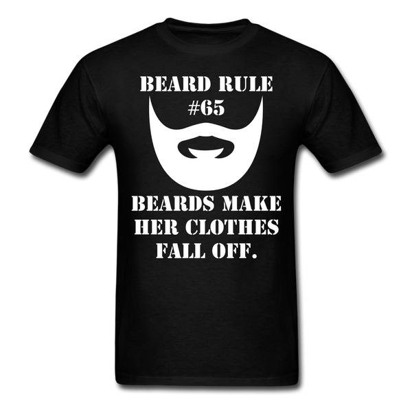 Beard Rule #65 T-Shirt - BeardedMoney