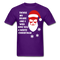 Tickle My Beard And I Will Give You A White Christmas Men's T-Shirt - bearded-money