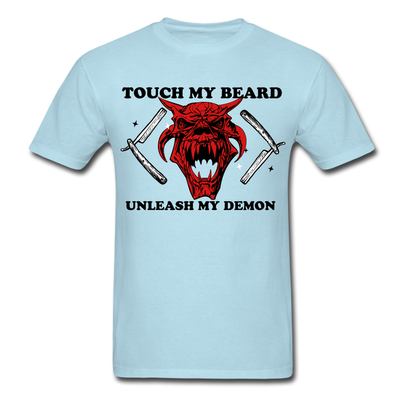 Touch My Beard  T-Shirt - bearded-money