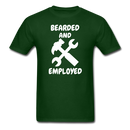 Bearded And Employed T-Shirt - bearded-money