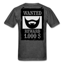 Wanted Reward T-Shirt - BeardedMoney