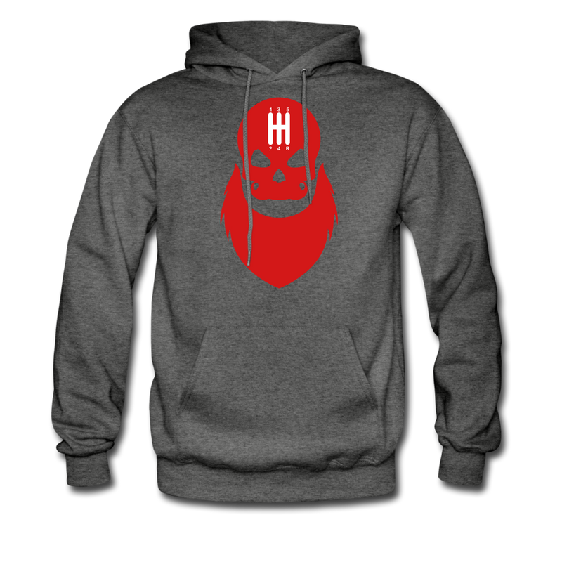 Manual Shift Bearded Skull Hoodie - bearded-money