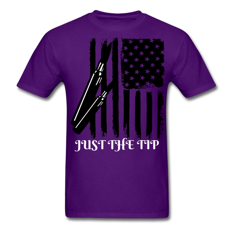 Just The Tip Men's T-Shirt - bearded-money
