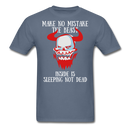 The Beast Inside Is Sleeping Not Dead T-Shirt - bearded-money