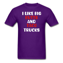 I Like Big Butts And Taco Trucks Men's T-Shirt - BeardedMoney