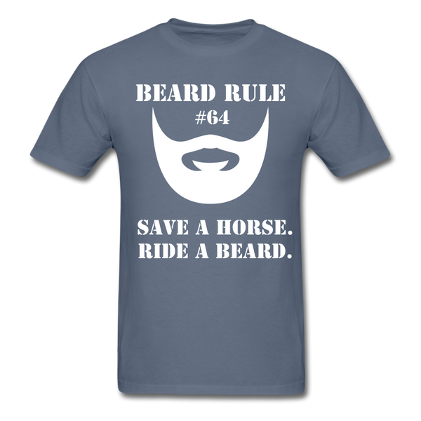 Beard Rule #64 T-Shirt - BeardedMoney