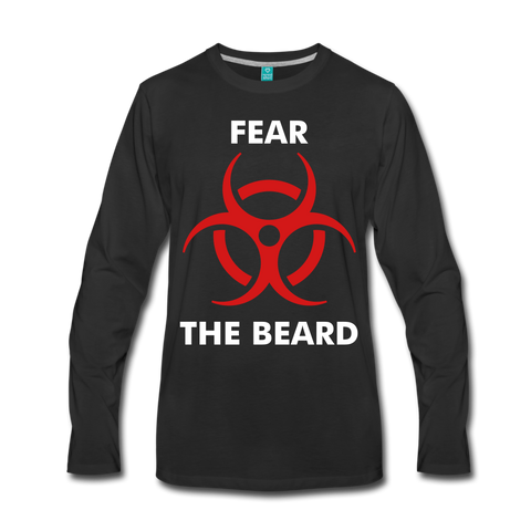 Fear Premium Long Sleeve T-Shirt - bearded-money