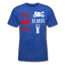 Bikes, Beards, Beers T-Shirt - bearded-money