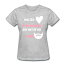 Melted By My Husband  Got Wet By His Beard T-Shirt - BeardedMoney