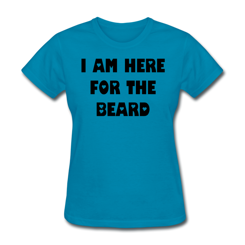 I Am Here For The Beard Women's T-Shirt - bearded-money