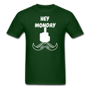 Hey Monday Moustache T-Shirt - BeardedMoney
