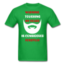 Warning Touching My Beard Is Considered Foreplay T-Shirt - bearded-money