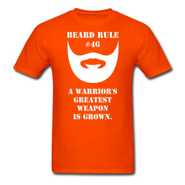 Beard Rule # 46 T-Shirt - BeardedMoney