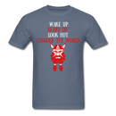 Wake Up, Beard Up T-Shirt - BeardedMoney