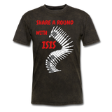 Share A Round With ISIS T-Shirt - bearded-money