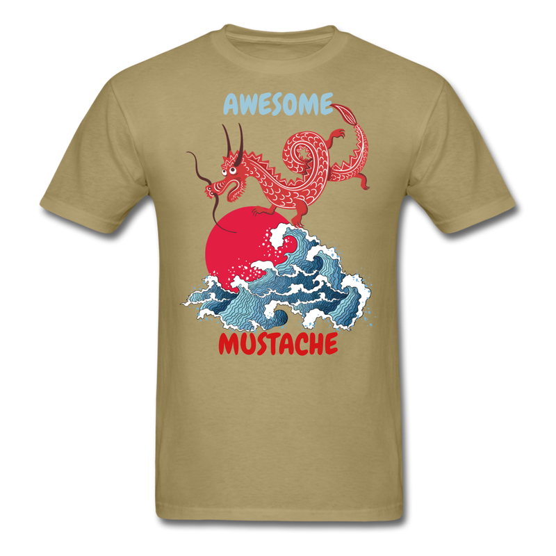Awesome Mustache T-Shirt - bearded-money