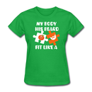 My Body, His Beard T-Shirt - BeardedMoney