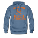 Work Hard Stay Humble & Bearded Hoodie - BeardedMoney