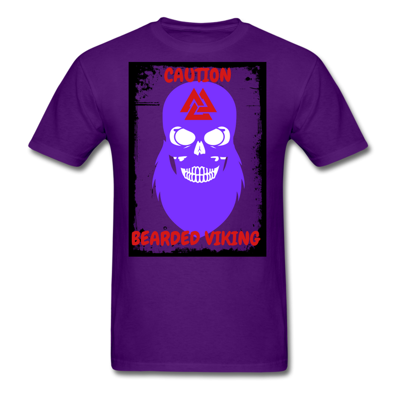 Bearded Viking Style 3 T-Shirt - BeardedMoney