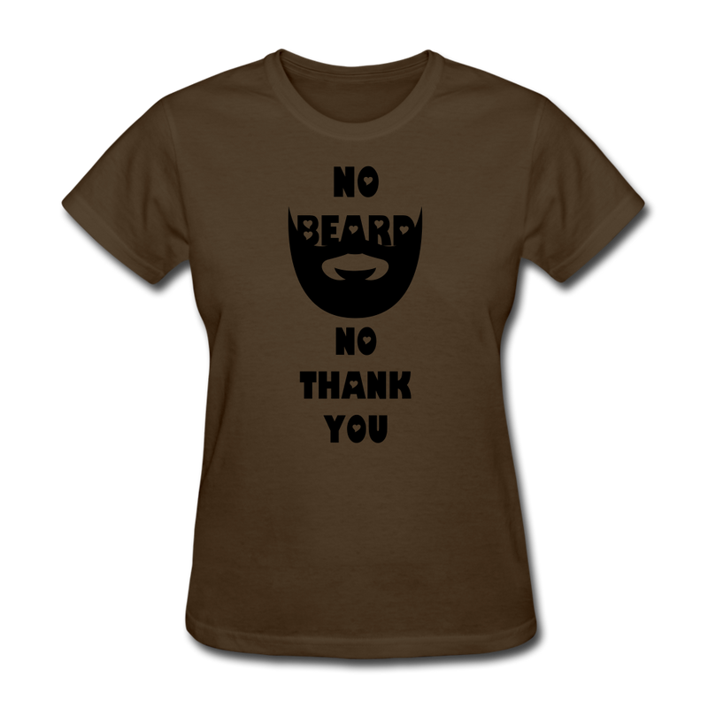 No Beard No Thank You T-Shirt - BeardedMoney