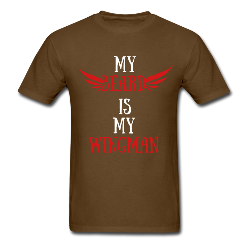My Beard Is My Wingman T-Shirt - BeardedMoney