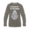 I Believe in Beards Long Sleeve T-Shirt - BeardedMoney