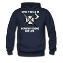 With It Or On IT T-Shirt Hoodie - bearded-money
