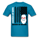 American By Birth, Bearded By Nature T-Shirt - BeardedMoney