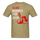 Beard Required For Entry T-Shirt - bearded-money