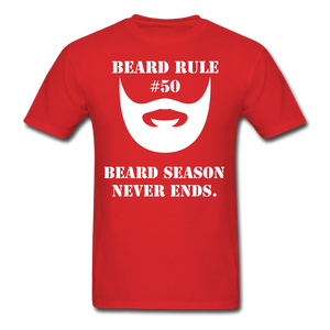 Beard Rule #50 T-Shirt - bearded-money