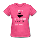 I Love Coffee, Beards T-Shirt - BeardedMoney