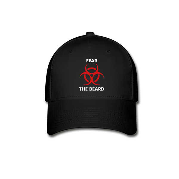Fear The Beard Baseball Cap - bearded-money