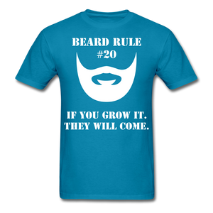 Beard Rule #20 T-Shirt - bearded-money