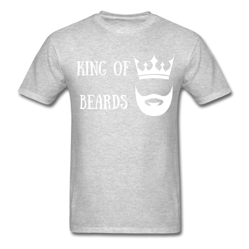 King Of Beards T-Shirt - BeardedMoney