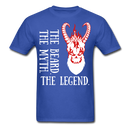 The Beard, The Myth, White Demon T-Shirt - BeardedMoney