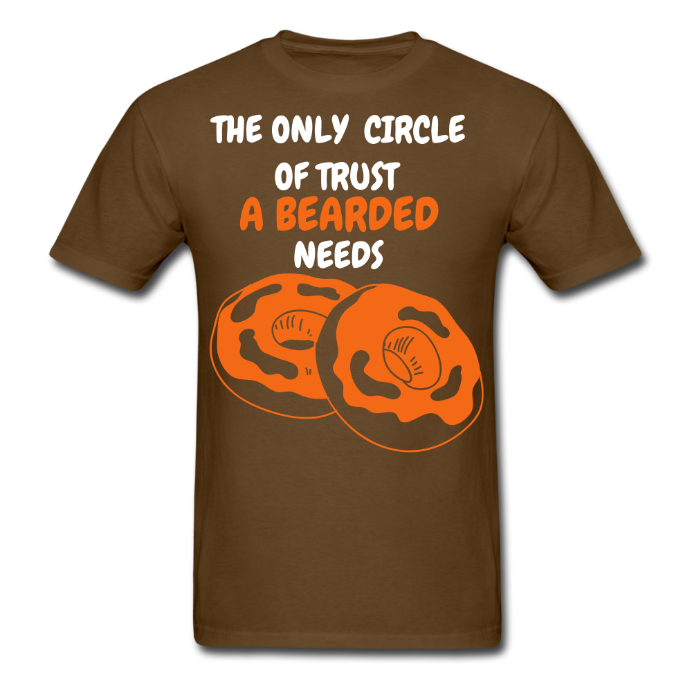 The Only Circle Of Trust A Bearded Needs T-Shirt - bearded-money