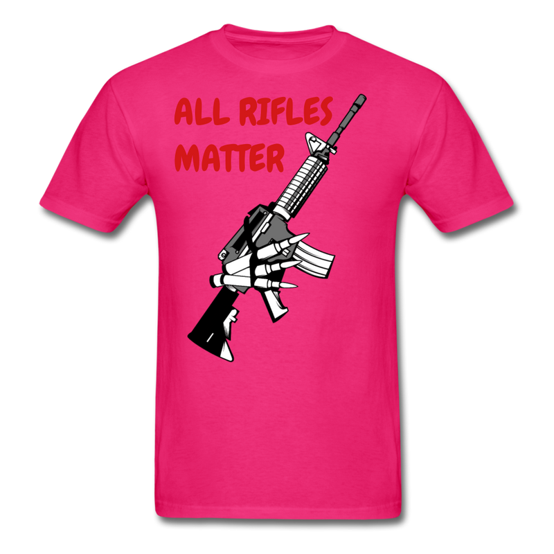 All Rifles Matter T-Shirt - BeardedMoney