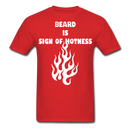 Beard Is Sign Of Hotness T-Shirt - bearded-money