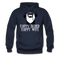 Happy Beard, Happy Wife Hoodie - bearded-money
