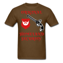 Original Beard Homeland Security Men's T-Shirt - bearded-money