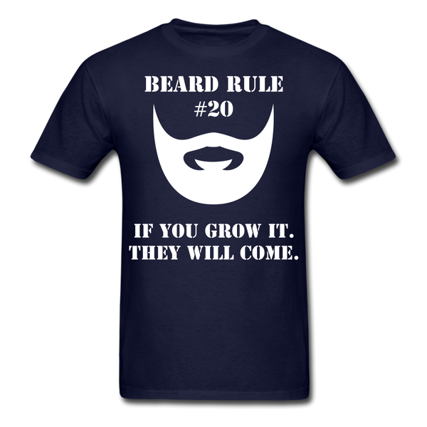 Beard Rule #20 T-Shirt - BeardedMoney