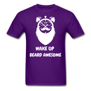 Wake Up Beard Awesome T-Shirt - BeardedMoney