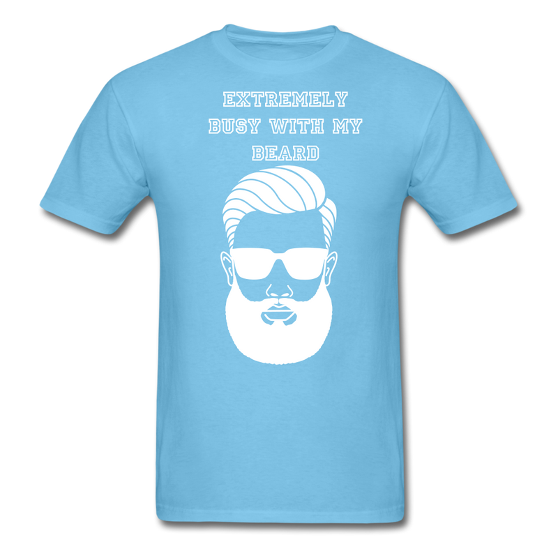 Extremely Busy with my Beard T-Shirt - bearded-money